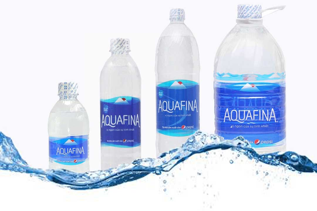 Aquafina chai 5L, 1.5L, 500ml, 355ml