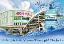 Đại lý nước Vihawa Thuận An Bình Dương
